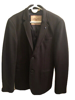 NWOT Zara Man Blazer In Black Size 42
