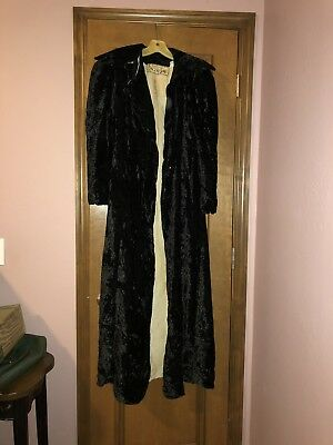 Vintage Best's Apperal Inc Seattle Velour Pimp Ripped Halloween Costume Coat](Best 1970s Halloween Costumes)
