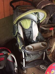 Strollers and car seat