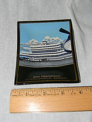 Vintage San Francisco International Airport Ashtray Dish California Collectible