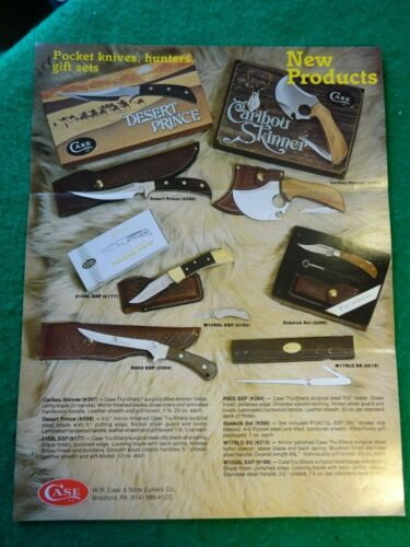 Case XX Dealer Knife new products guide 1981