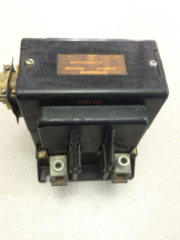 USED WARD LEONARD CONTACTOR 5DP4-5021-11
