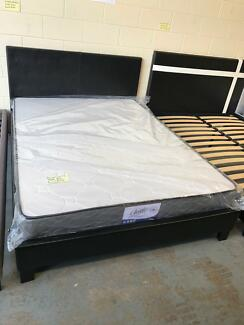 Brand new Pu leather bed frame Double$150,Queen$190