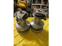 Harken Self Tailing Winches 2 Speed Chrome Power Radial 40 (qty 2)