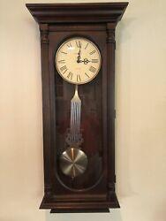 Howard Miller Helmsley Wall Clock Dual Chime 620-192