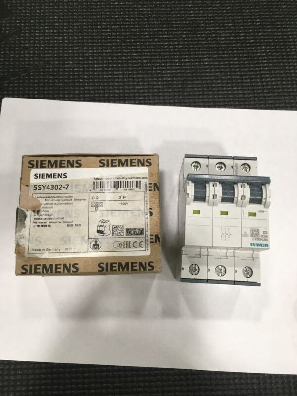 Siemens 5SY4302-7 Supplementary Protector