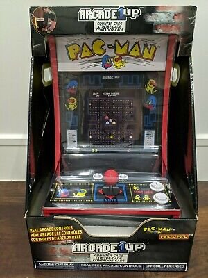 Arcade1Up Pacman Personal Arcade Game Machine PAC-MAN Countercade - New