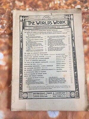 The Worlds Work Magazine Book December 1902, Vintage Antique Advertising