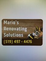 Home Improvements/Renovations-Listowel On