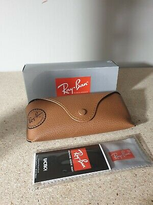 Ray Ban Brown Sunglasses Case BUY ONE GET ONE (Sunglasses Buy One Get One Free)