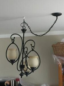 Ceiling light fixture chandelier