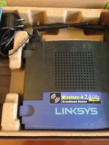 Router Linksys wireless-G WRT54GL 54MBPS