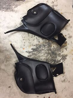 Mazda RX7 FD rear left and right door cards back seat.
