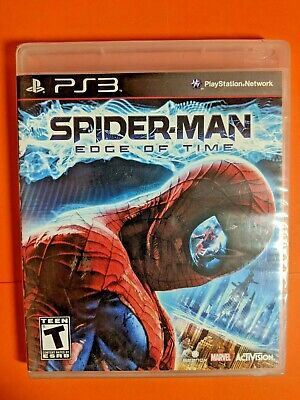 Spider-Man: Edge of Time PS3 Brand New Sealed