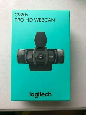 LOGITECH C920S HD PRO WEBCAM WITH PRIVACY SHUTTER 1-3 DAYS DELIVERY - FAST SHIP!