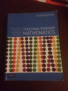 Teaching primary mathematics fourth edition Beenleigh Logan Area Preview