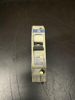 Telemechanique 5 Amp Circuit Breaker Gb2-cb10