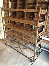 Vintage industrial shoemaker trolley shelving bookshelf Ivanhoe Banyule Area Preview