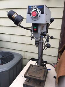 "Delta Shopmaster 12"" Drill Press DP 350 Variable Speed"