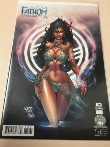 Michael Turner's Fathom #1 Islander Comics Exclusive. Paolo Pantalena. 2013 NM