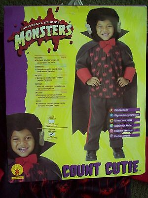 NEW WITH TAG MONSTERs Costume Boy's Toddler Sz 2-4 For 1-2 Years - Halloween Costumes For Toddlers