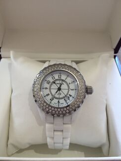 Chanel J12 white ceramic watch  Melbourne CBD Melbourne City Preview