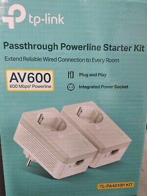 TP-LINK AV600 PowerLine Starter Kit RJ-45 (TL-PA4010PKIT)