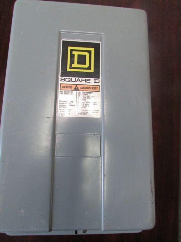 Square D 8903LG60 Contactor in a Nema 1 Enclosure