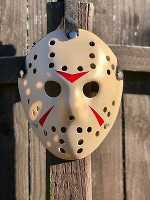 Jason Voorhees Almond Mask -high Quality- - Jason Mask