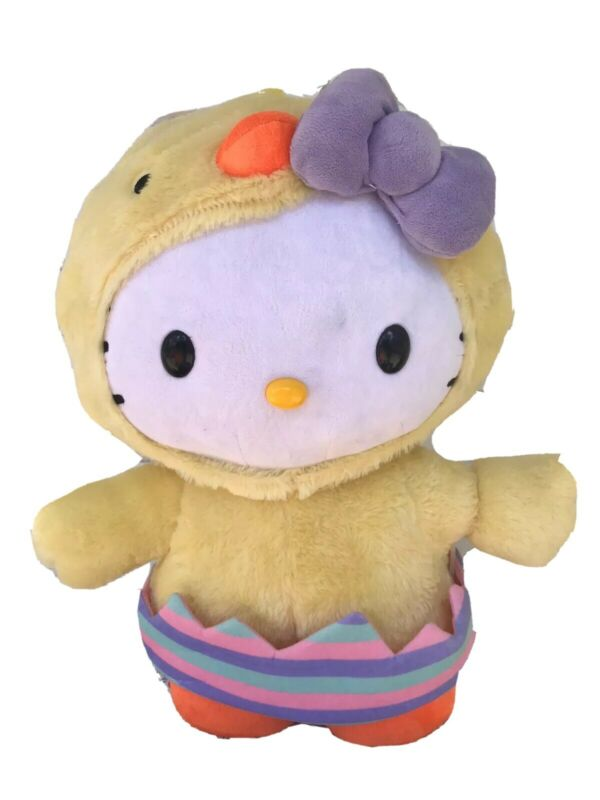 "Saniro Hello Kitty Easter Greeter 20"" Tall Plush"