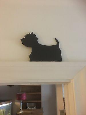 West Highland Terrier / Westie /Door Topper Cute Dog Present Gift 🎁 Picture Top