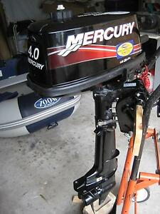 Mercury 4hp 2 stroke outboard motor Frenchs Forest Warringah Area Preview