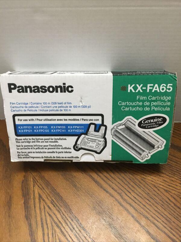 Panasonic KX-FA65 Fax Machine Film Cartridge FA 65 NEW Genuine Still Sealed OEM