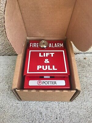 Potter 1430811b Addressable Pull Station Dual Action New Fire Alarm New In Box
