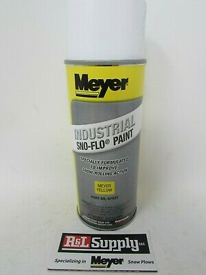 1 Can Genuine Meyer Snow Plow Yellow Snow Flo Paint 07027 08677