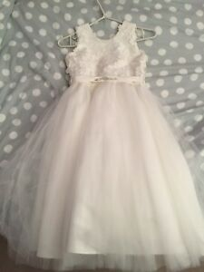 Girls communion/flower girl dress