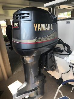 "Yamaha 150hp 2003 25"" 2 stroke outboard motor"