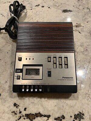 Panasonic Rr-900d Microcassette Transcriber No Pedal No Mic