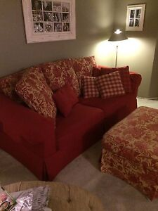 Red Comfy Couch Peterborough Peterborough Area image 2