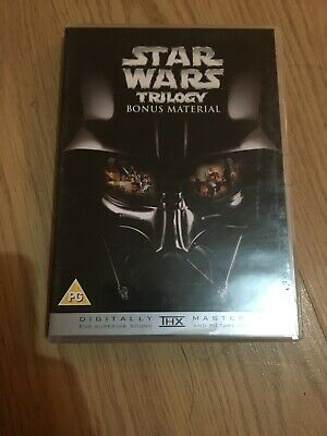 STAR WARS BONUS MATERIAL - DVD UK ORIGINAL VGC - FROM THE TRILOGY BOX SET