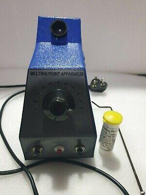Melting Point Apparatus100 Piece Of Capillary Tubes Set 110220v