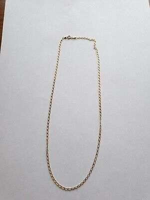 9 Kt Gold Italian 375 Necklace