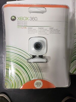 Microsoft Xbox Live Vision Camera - Microsoft Xbox 360 Live Vision Camera - Brand New - Free Shipping