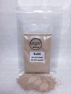Mineral Makeup Refill~U PICK~FOUNDATION~VEIL~BRONZER~CONCEALER~HIGHLIGHT