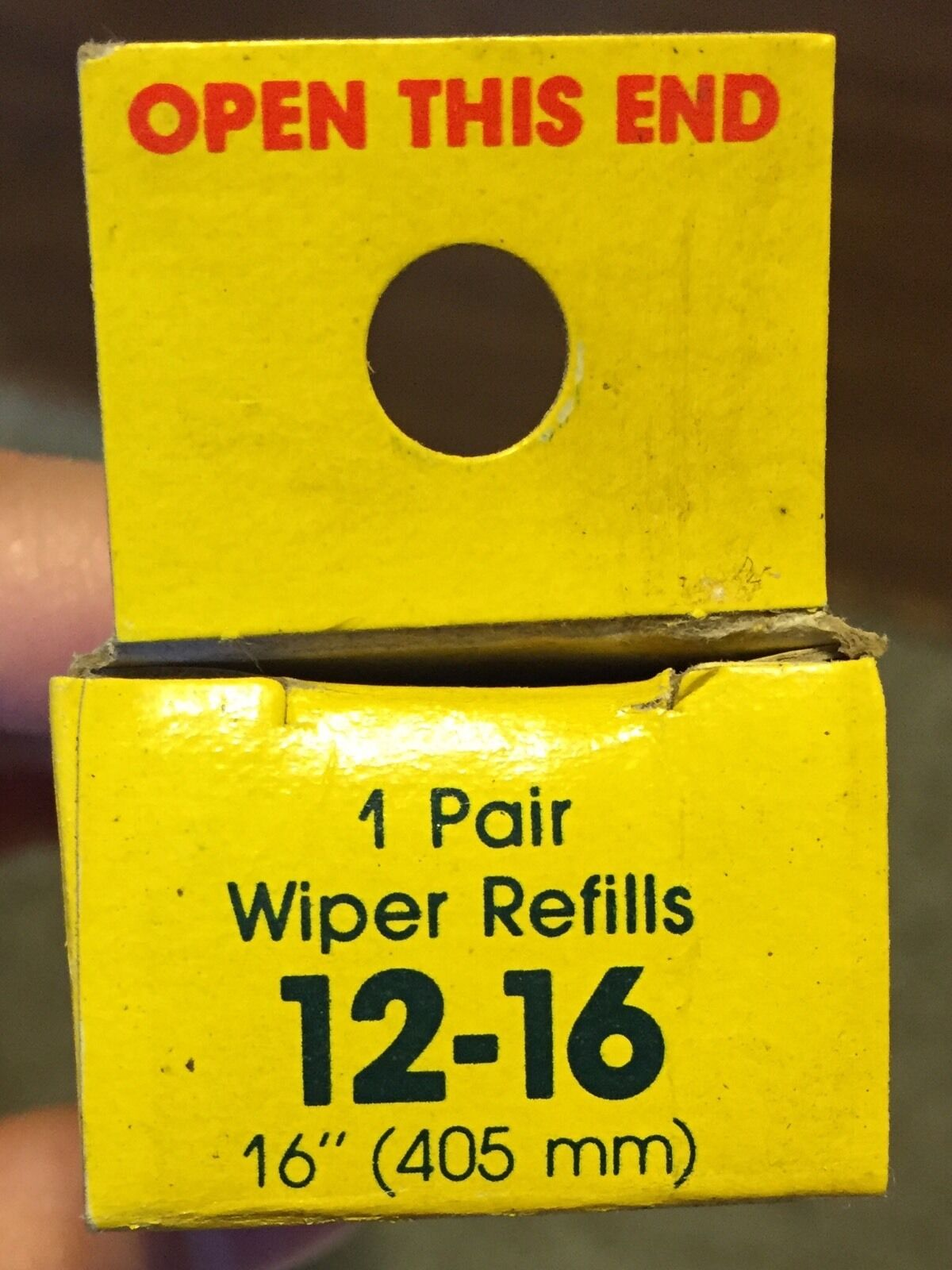 Anco Windshield Wiper Refills 12-16 refill NEW