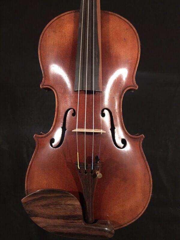 c.1890-1910 Jacobus Stainer 4/4 Full Size Violin Vintage Old Antique Fiddle