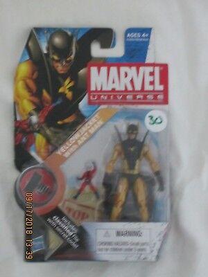 2 Yellow Jacket Action Figure - Marvel Universe YELLOW JACKET W/ ANTMAN 3.75
