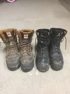 "8"" Steel Toe work boots for sale"