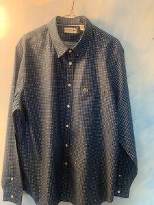 2 genuine Lacoste dress shirts size XXL NWT