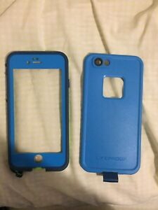 Blue Lifeproof Case for iPhone 6